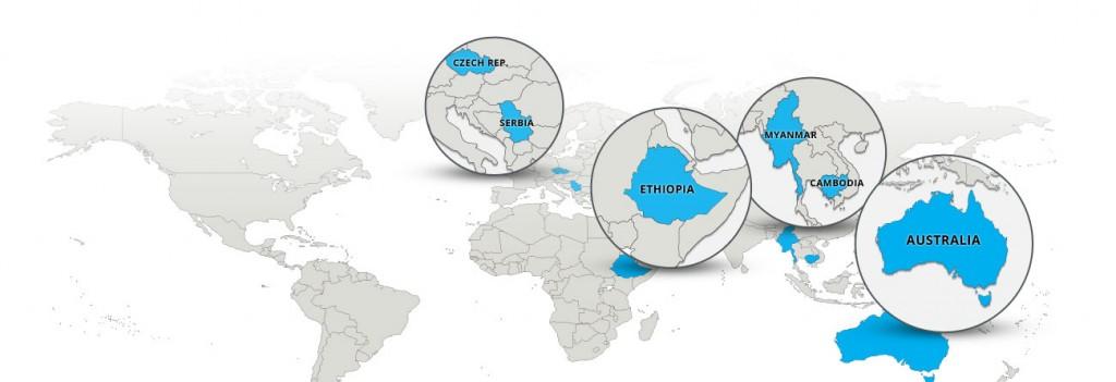 Global Community - Missions Map